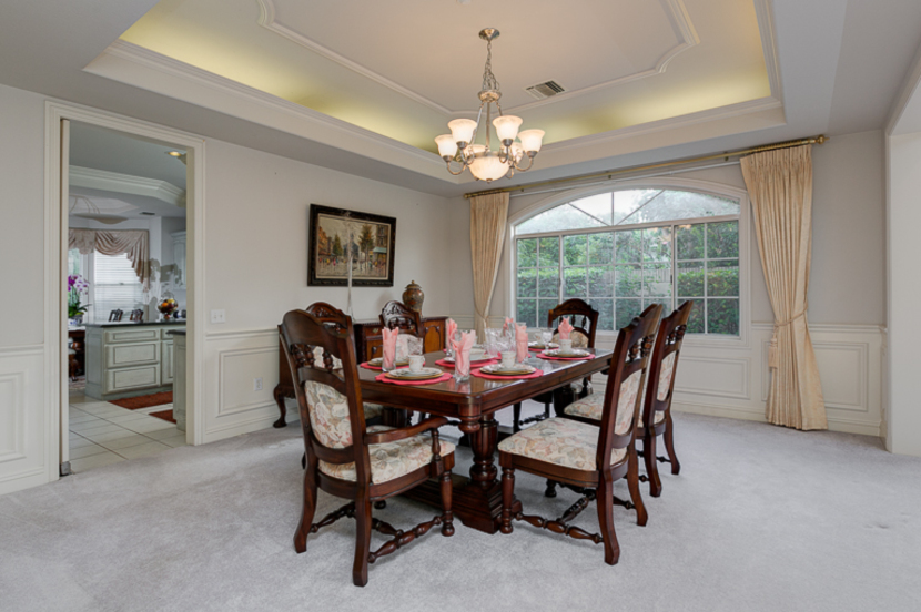 Formal Dining Room Adjacent To Kitchen